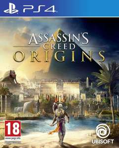 Assassin's Creed: Origins (PS4 & Xbox One) für je 30,95€ (Coolshop)
