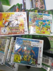 [Lokal] Media Markt Aachen: Pokémon Sonne, Pokémon Super Mystery Dungeon, Yoshi's Woolly World 3DS für je 15€