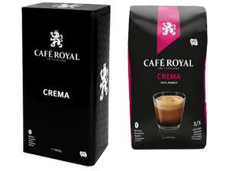 CAFE ROYAL Crema inkl. Dose, 1kg versandkostenfrei (Media Markt)