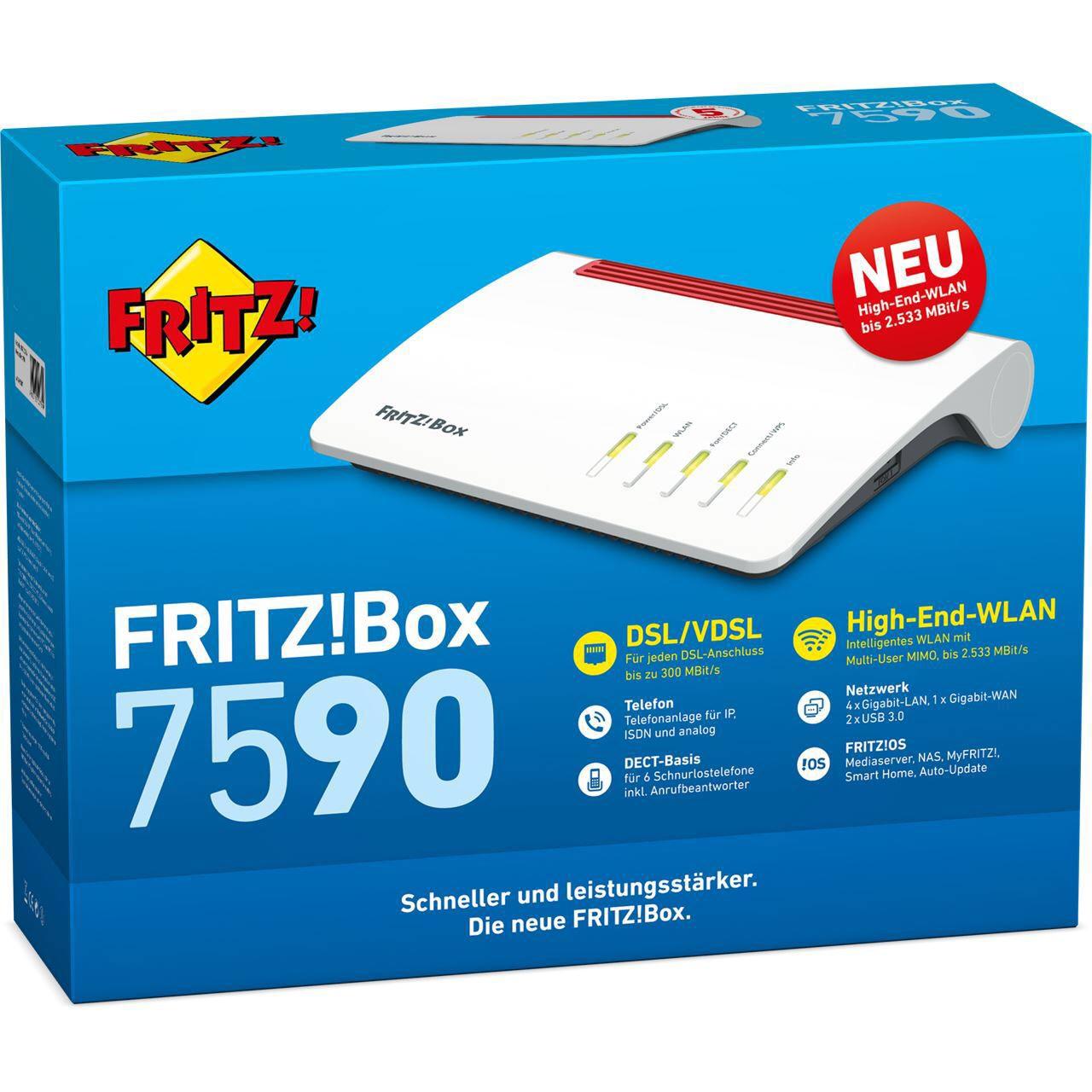 AVM Fritzbox 7590 A/CH Warehouse Amazon.co.uk