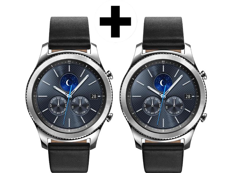 [Mediamarkt Österreich] SAMSUNG Smartwatch Gear S3 Classic Doppelpack für 329,-€