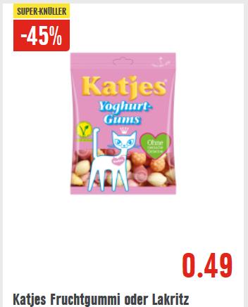 [Edeka bundesweit] Katjes Fruchtgummi & Lakritz versch. Sorten, 150g - 200g Beutel