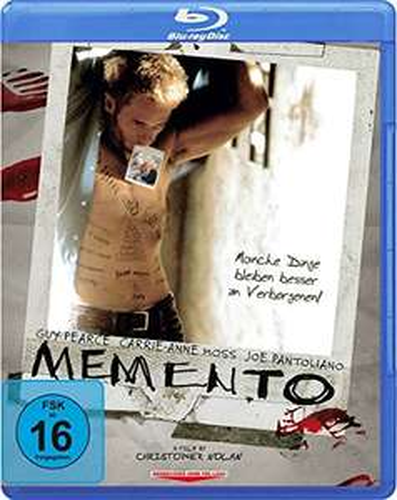Memento (Blu-ray) für 4,99€ (Amazon Prime & Müller)