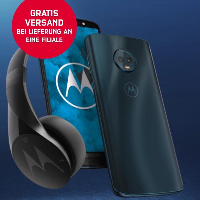 Moto G6 32GB + Bluetooth Kopfhörer