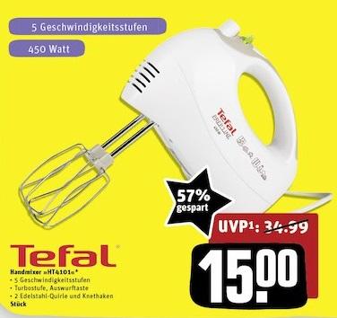 Tefal HT4101 Handmixer 450W