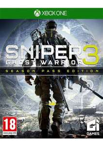 Sniper: Ghost Warrior 3 Season Pass Edition (Xbox One) für 16,50€ (Coolshop)