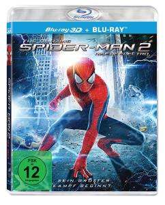 The Amazing Spider-Man 2: Rise of Electro (3D Blu-ray + 2D Blu-ray) für 5,11€ (Dodax)
