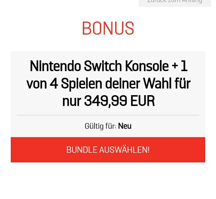 Nintendo Switch + Spiel