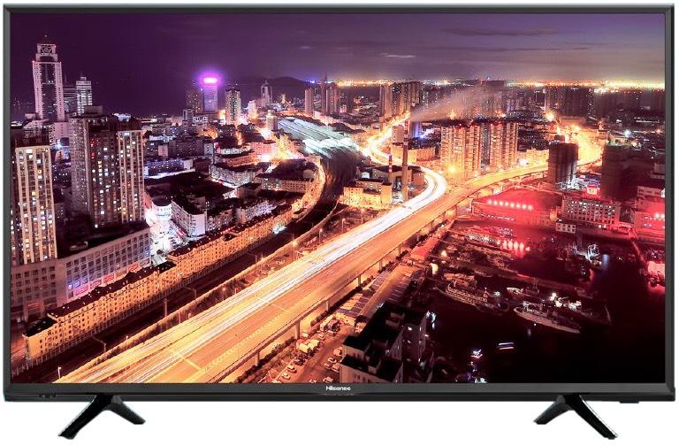 Hisense H55NEC5205 55 Zoll 138cm 4K Ultra HD LED Fernseher Smart TV DVB-T2