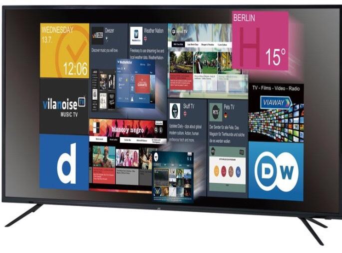 "JTC 55"" 4K UHD Smart TV"