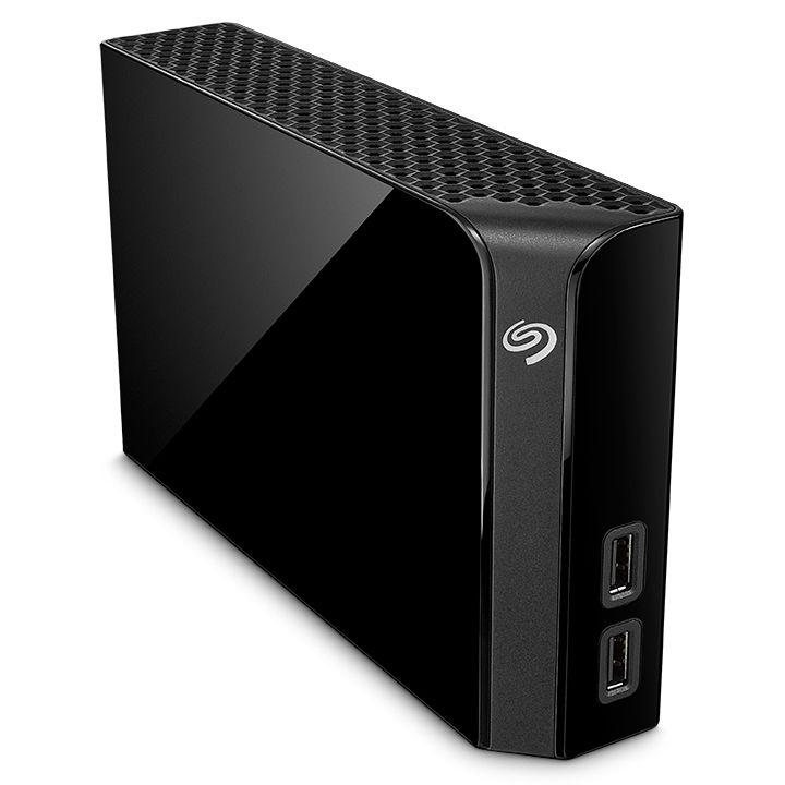 Seagate Backup Plus HUB STEL8000200 8 TB, externe 3,5-Zoll-Festplatte (mit integriertem USB-3.0-HUB)