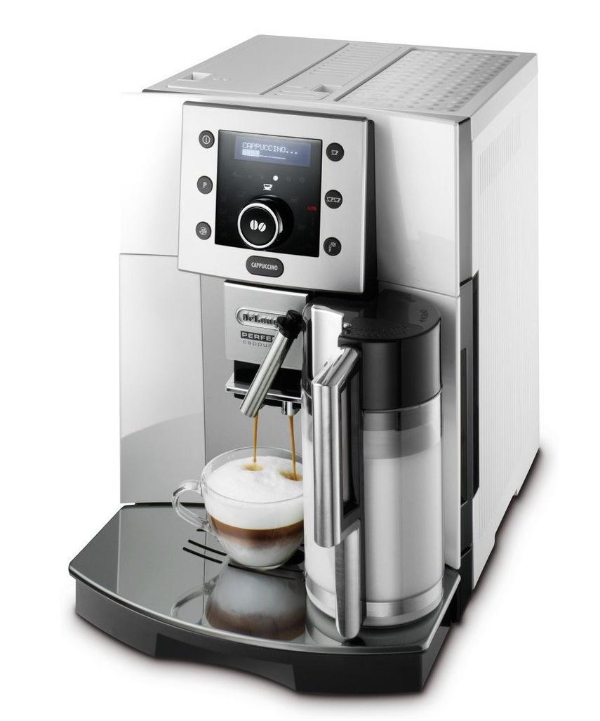 [Blitzangebot] DeLonghi ESAM 5500 Perfecta Cappuccino Kaffeevollautomat Silber