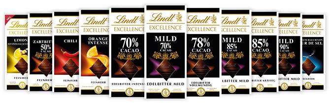 [GzG] Lindt Excellence Schokolade gratis testen