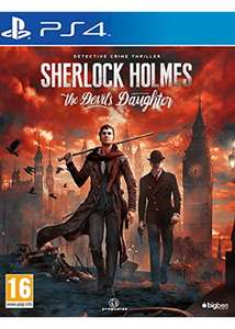 Sherlock Holmes: The Devil's Daughter (PS4) ab 13,70€ & (Xbox One) für 16,89€ (Base.com & GameStop & Amazon ES)
