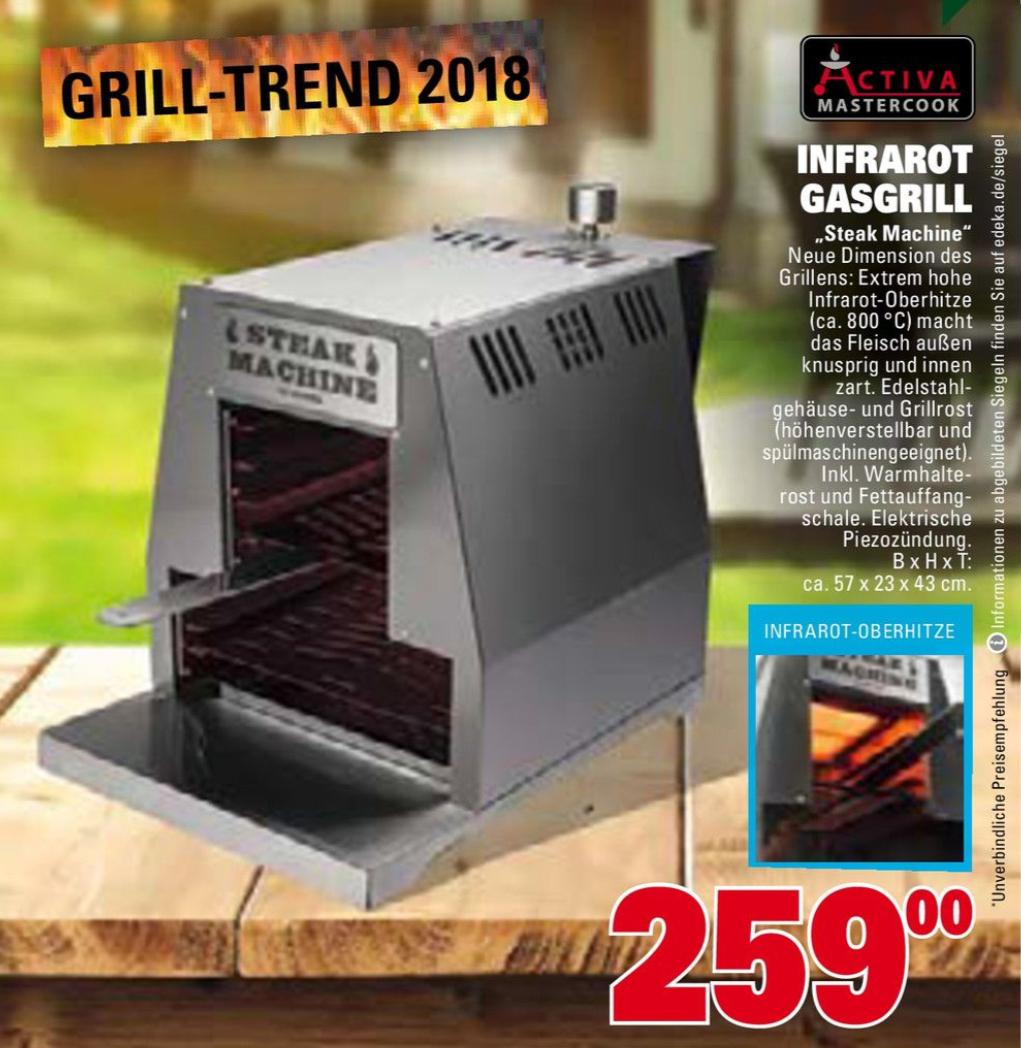 Activa Steak Maschine | Grill mit 800° Oberhitze [Marktkauf]