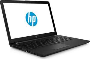 "HP 15-bs549ng - Core i3-6006U, 256GB, 4GB, 15,6"" Full-HD, DVD-RW, Win 10 mit Masterpass"