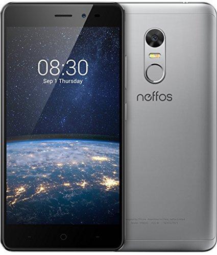 [Amazon oder Saturn] TP-Link Neffos X1 Lite 4G LTE Smartphone, 5 Zoll HD Display (12,7cm), 16GB Speicher, Dual Sim, 13 MP Kamera, Android 7.0, Cloudy Grey, Grau oder Gold (mit Umzug nach AU nur 71€)