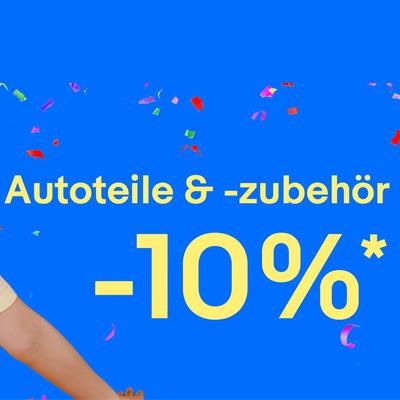 [eBay] 10% Gutschein auf Autoteile & Zubehör am 26.06.
