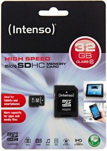 [eBay] Intenso microSDHC 32GB Class 10