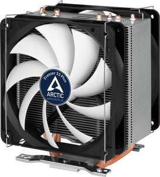 [nbb] ARCTIC Freezer 33 Plus - Prozessorkühler - (LGA1156 Socket, LGA1155 Socket, LGA1150 Socket, LGA2011-3 Socket, LGA1151 Socket, Socket AM4, LGA2066 Socket) - 120 mm