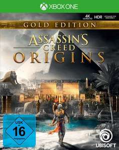 Assassin's Creed: Origins Gold Edition inkl. Season Pass (Xbox One & PS4) für je 49€ (Saturn & Media Markt)