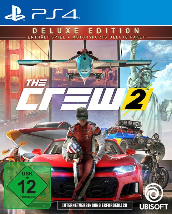 The Crew 2 Deluxe Edition (PS4/Xbox One) für Gamestop Level 3 Mitglieder