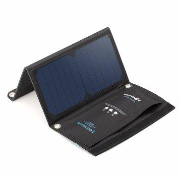 [Banggood] BlitzWolf 15W 2A 2x USB Typ A Ladebuchsen Solarpanel Ladegerät / max. 2A