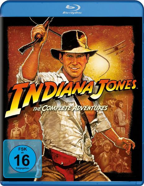 Indiana Jones - The Complete Adventures [Blu-ray] für 11,70 EUR (Thalia)