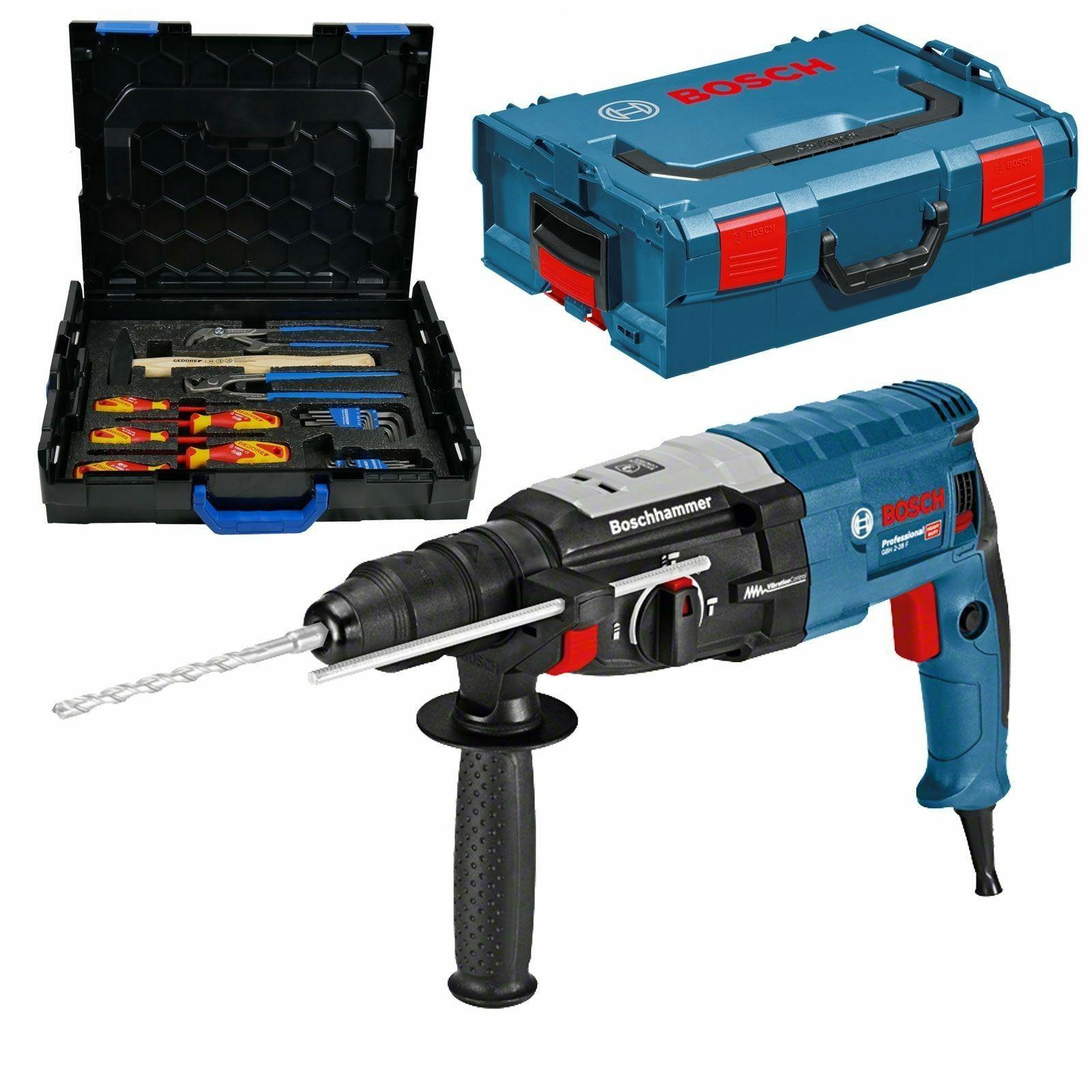 Bosch SDS-plus Bohrhammer GBH 2-28 F |  L-BOXX & Gedore-BOXX
