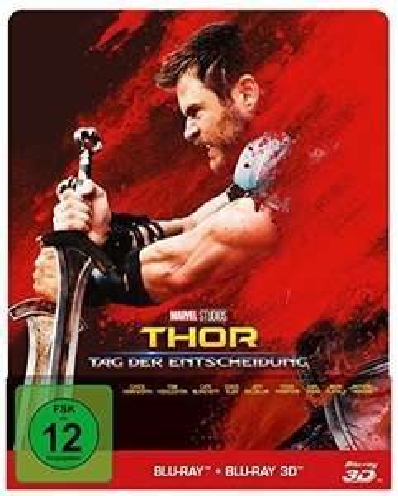Thor 3 - Tag der Entscheidung 3D (Limited Edition, Steelbook, Blu-ray 3D + Blu-ray) für 19,99€ (Cede)