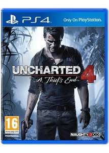 Uncharted 4: A Thief's End (PS4) für 17,65€ [Base.com]