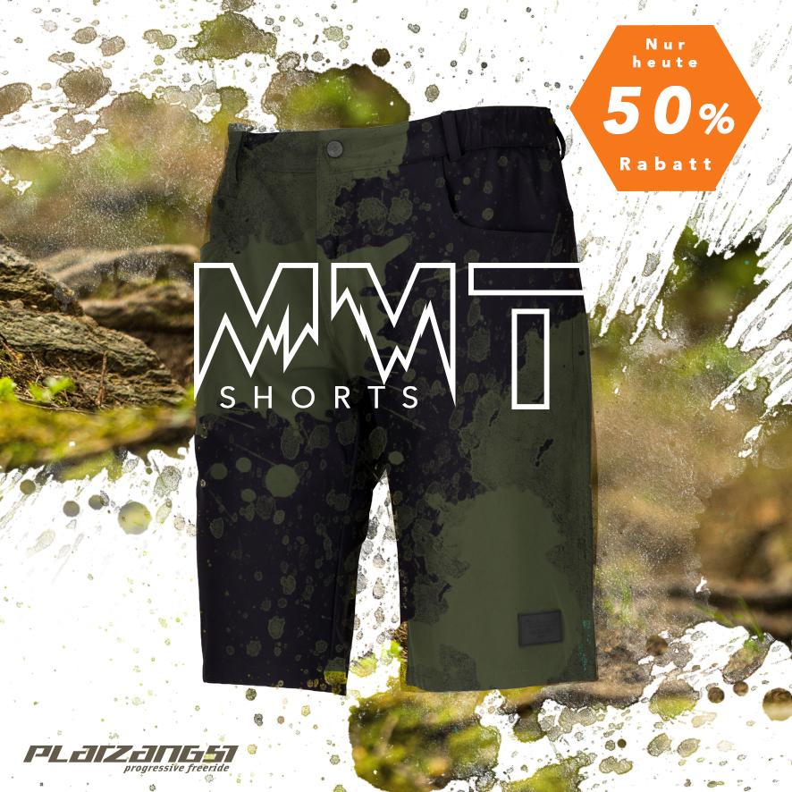 Bis zu 60% Rabatt im Platzangst-Sale bzw. 15% on top auf T-Shirts (MBW: 30€) und 50% auf MMT Shorts in 2 Farben