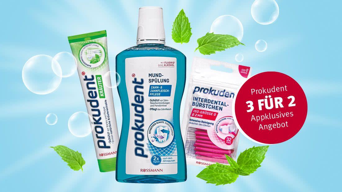 [Rossmann App] 3 für 2 Prokudent-Produkte