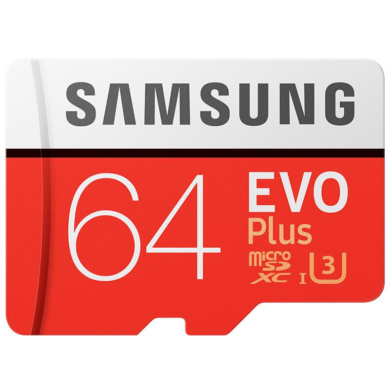Samsung EVO Plus microSDXC 64GB für 15,78€ (Joybuy)