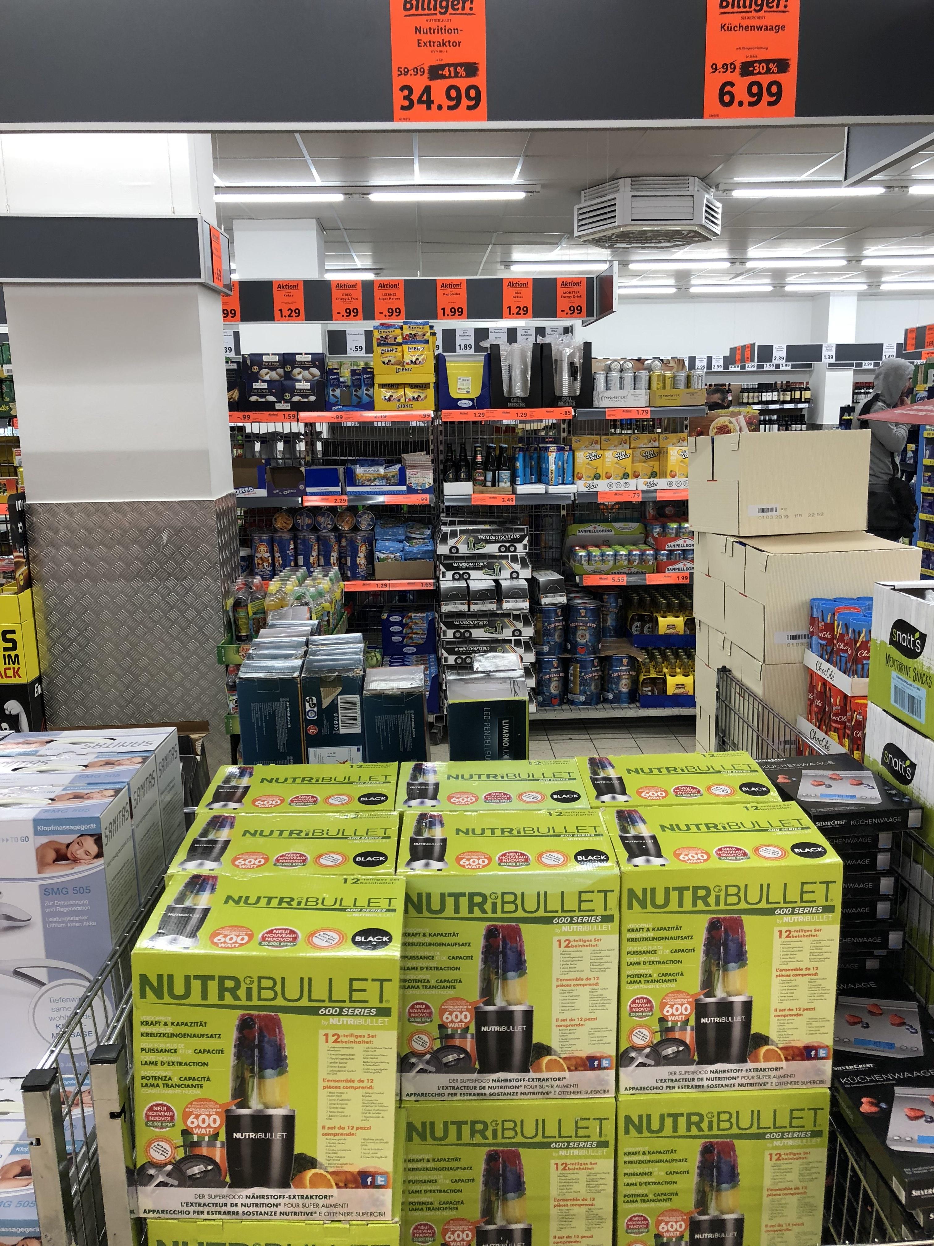 NutriBullet Nutrition-Extraktor lokal bei Lidl in Dortmund