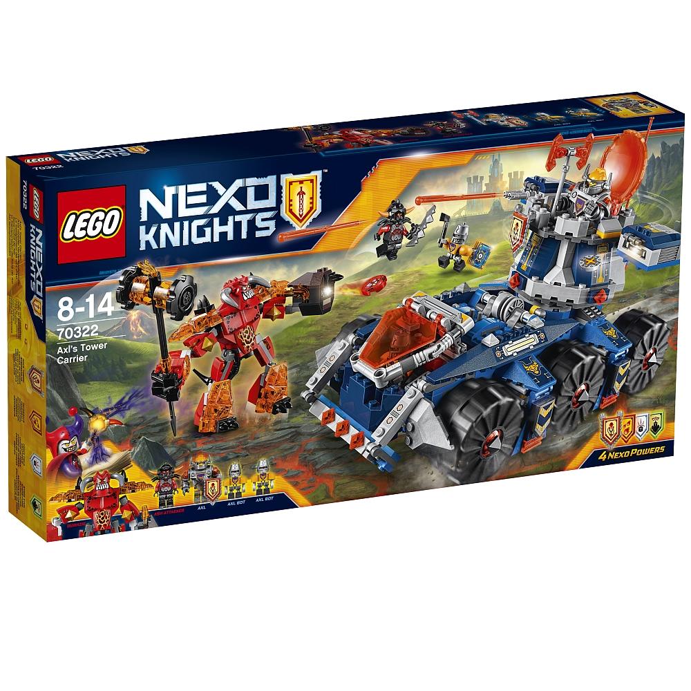 LEGO Nexo Knights - 70322 Axls mobiler Verteidigungsturm