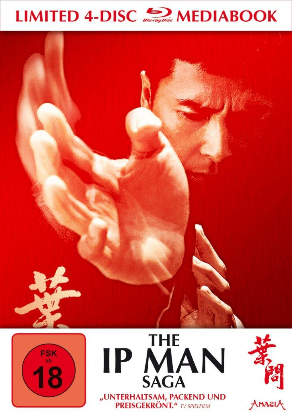The IP Man Saga Limited Mediabook Edition (Blu-ray) für 15,99€ versandkostenfrei (Media Markt)
