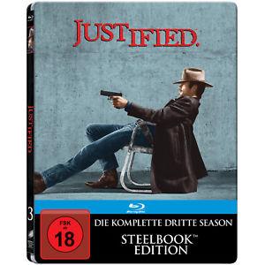 Justified - Die komplette Staffel 3 Steelbook (Blu-ray) für 8€ versandkostenfrei (Media Markt eBay)
