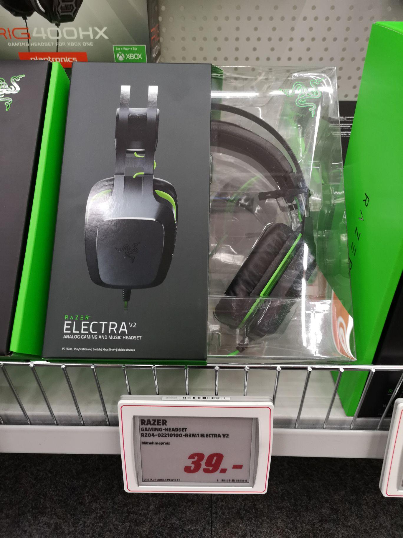 Razer Electra V2 [Lokal MediaMarkt Ruhrpark]