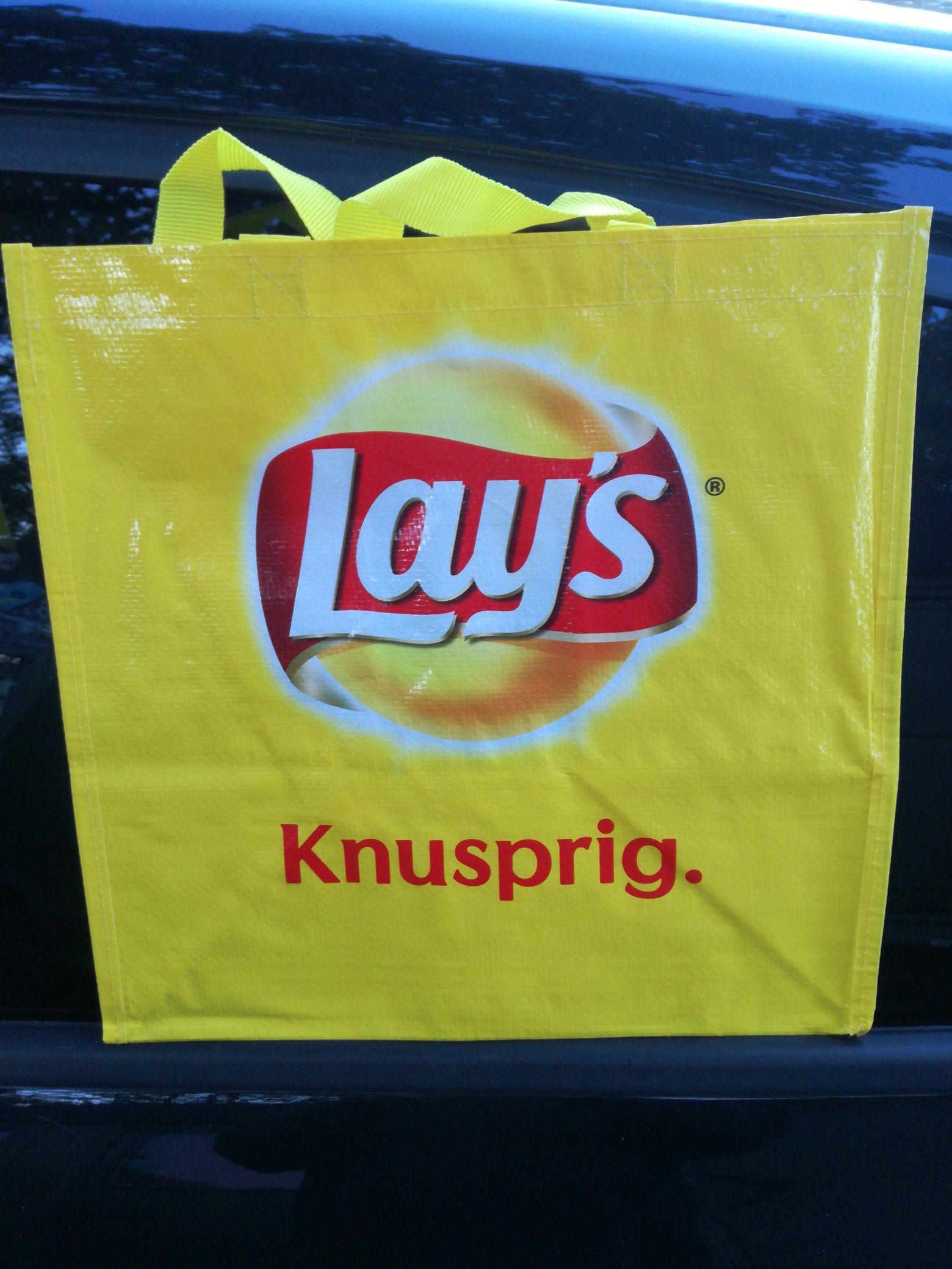(Rewe) Permanenttragetasche von Lay's gratis , Lokal? Berlin Seafkowplatz