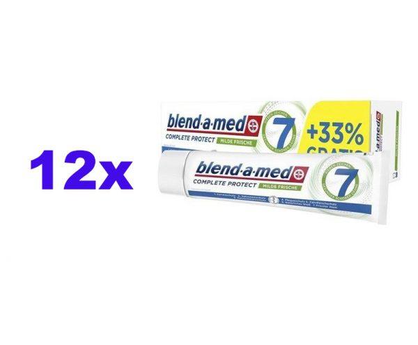 12er Pack blend-a-med Complete Protect 7 Milde Frische Zahnpasta 100ml für 6,99€ inkl. Versand @Dealclub