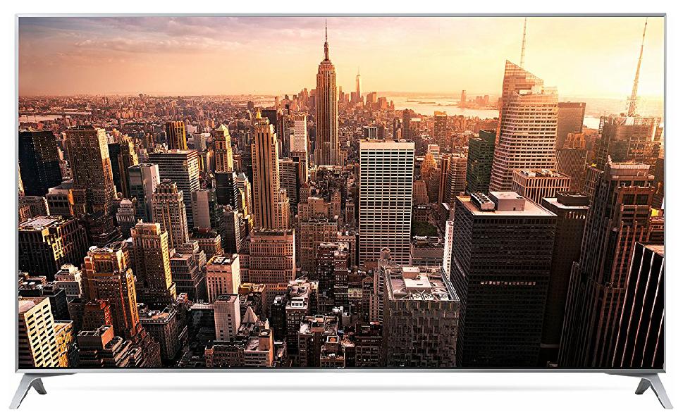eBay: LG 49SJ800V (49 Zoll) Fernseher (Super UHD, 100 Hz nativ, Triple Tuner, HDR, Dolby Vision, 10-bit, Smart TV) durch Umzug-Trick für 584€