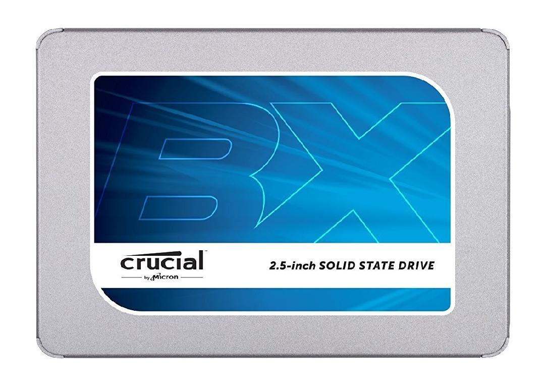 Crucial BX300 CT480BX300SSD1 480GB Interne SSD (3D NAND, SATA, 2,5 Zoll)