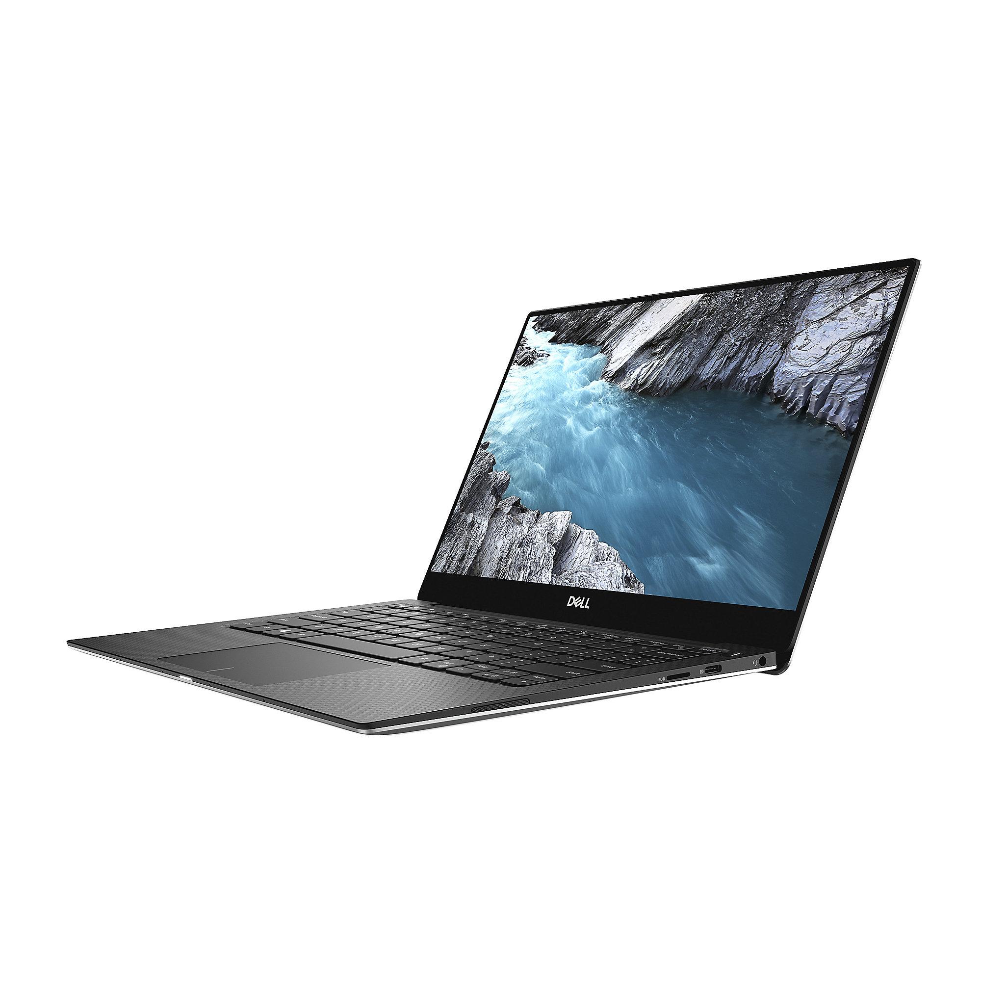 """Dell XPS 13-9370 2018 - Core i7-8550U, 16GB RAM, 512GB SSD, 13,3"""" Full-HD, Win 10 Pro, 1,2kg"""