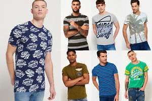 Herren Superdry T-shirts verschiedene Modelle und Farben für 14,95 EUR (Ebay)