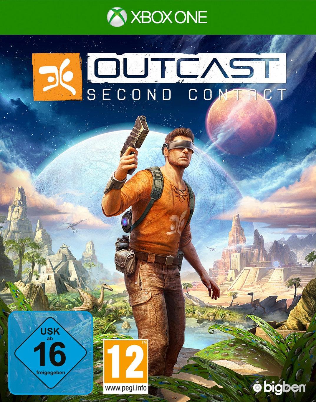 Outcast: Second Contact (Xbox One) für 16,99€ & (PS4) für 19,99€ (GameStop)