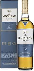 Macallan 12 Jahre Fine Oak Highland Single Malt Scotch Whisky als Blitzangebot