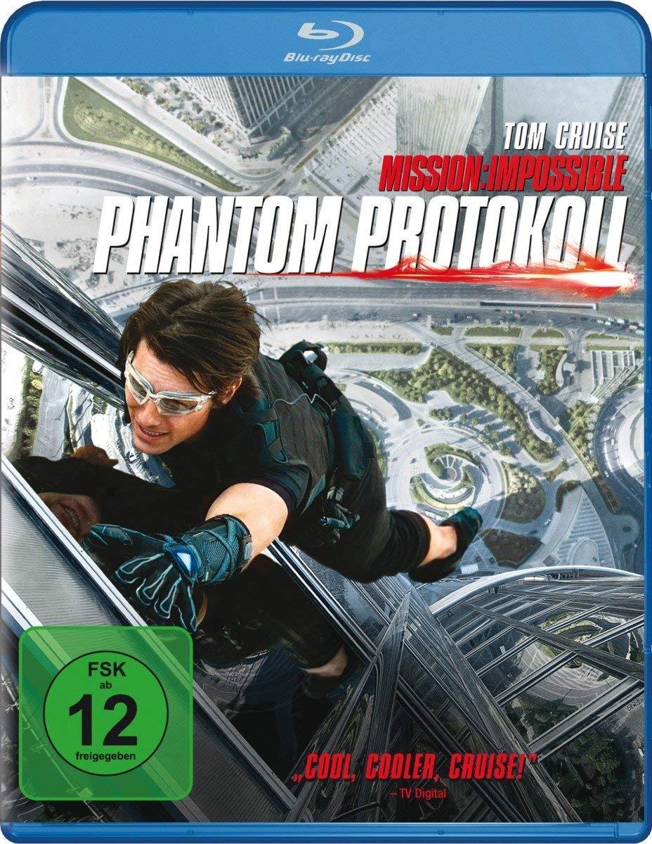 Mission: Impossible 4 - Phantom Protokoll (Blu-ray) für 4,0€ (Dodax)