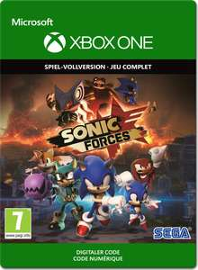 Sonic Forces (Xbox One) für 11,34€ (Xbox Store AR Xbox Live Gold)
