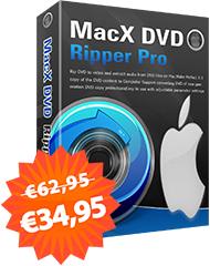 MacX DVD Ripper Pro zum 8. Jubiläum GRATIS bis 10. Juli 2018
